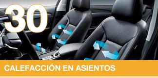 Calor personalizado en tu coche.