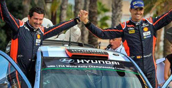 Rally de España Rally RACC, nos subimos al podio.