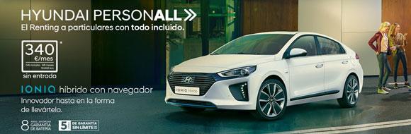 Hyundai ofrece un todo incluido, Renting particulares